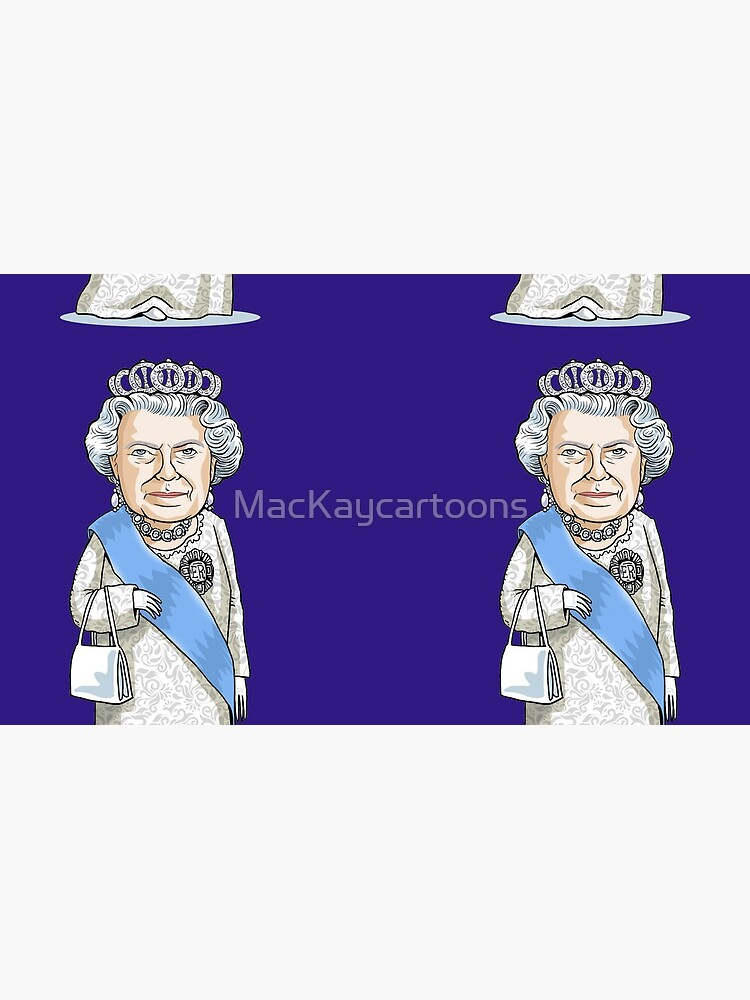 Queen Elizabeth II by MacKaycartoons