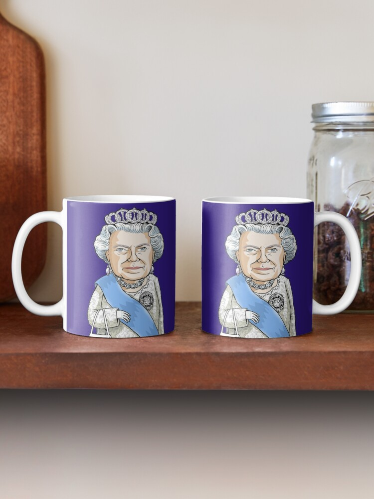 Alternate view of Queen Elizabeth II Mug