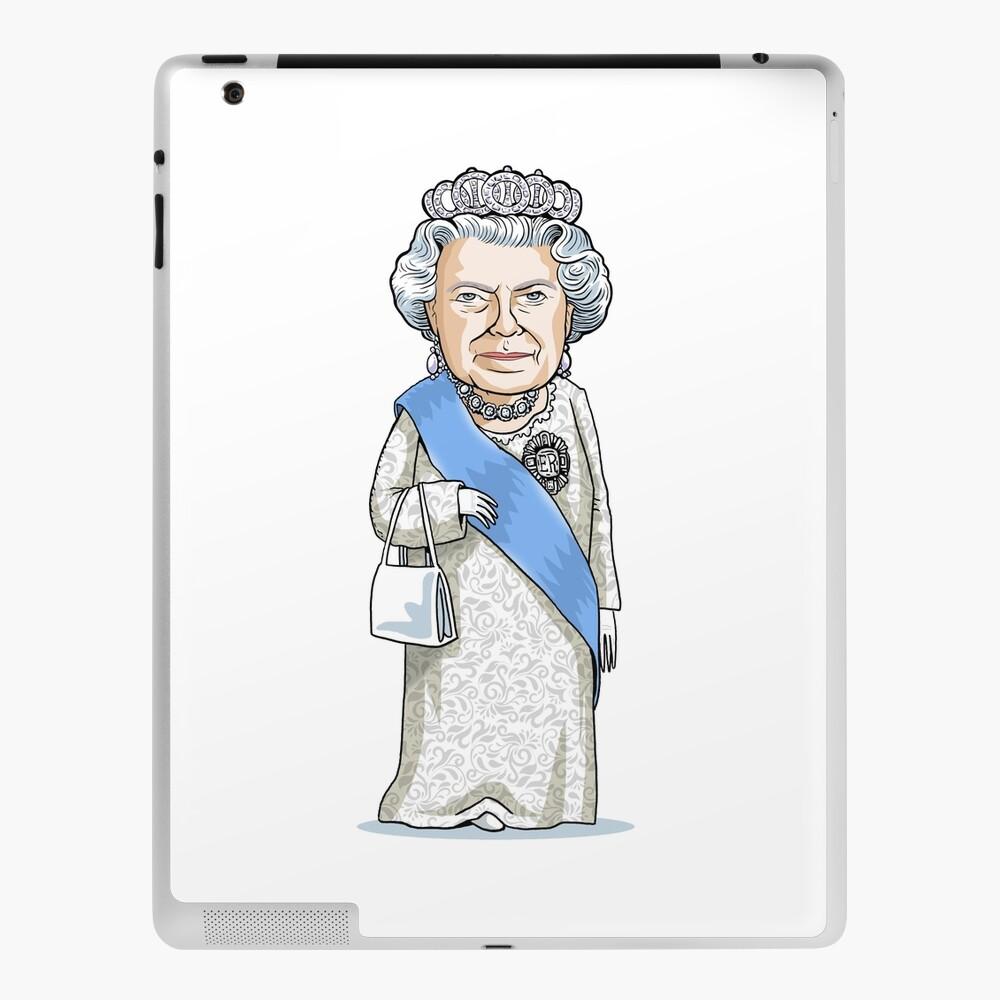 Queen Elizabeth II iPad Case & Skin