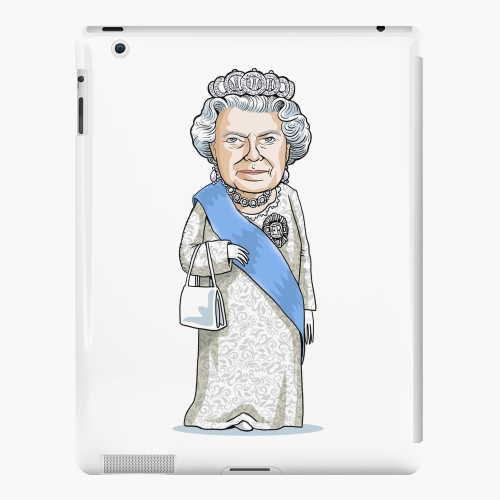 Queen Elizabeth II iPad Case & Skin