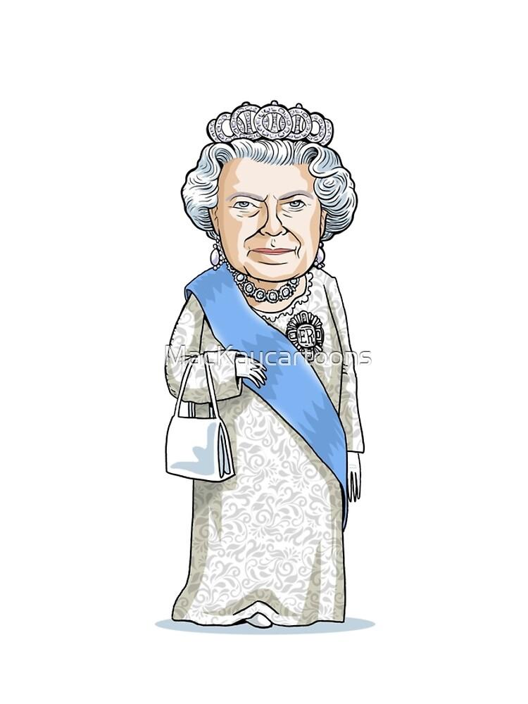 Queen Elizabeth II by MacKaycartoons