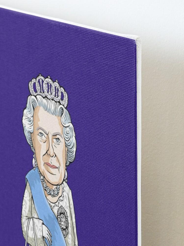 Alternate view of Queen Elizabeth II Mounted Print