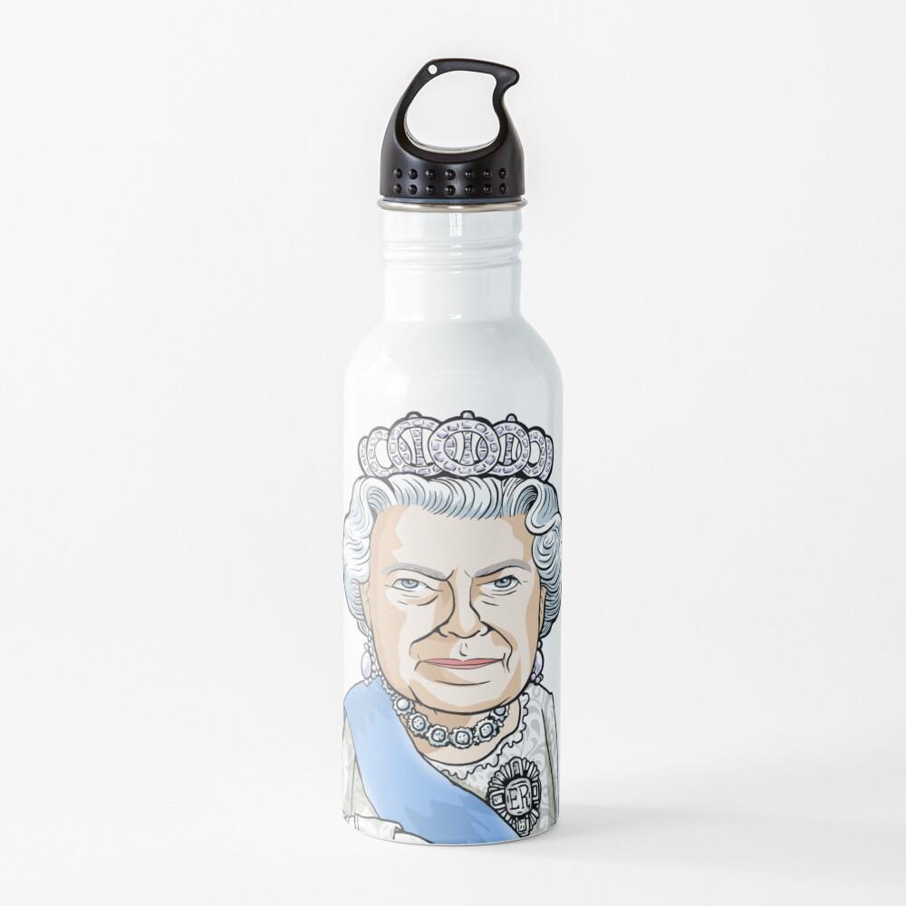 Queen Elizabeth II Water Bottle