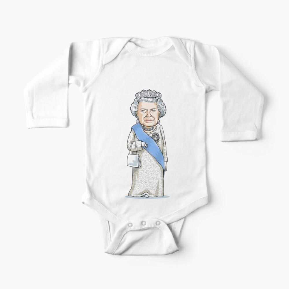 Queen Elizabeth II Baby One-Piece