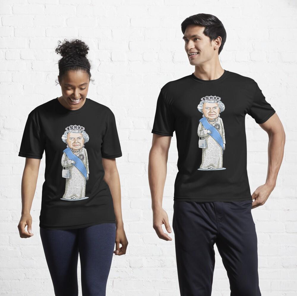 Queen Elizabeth II Active T-Shirt