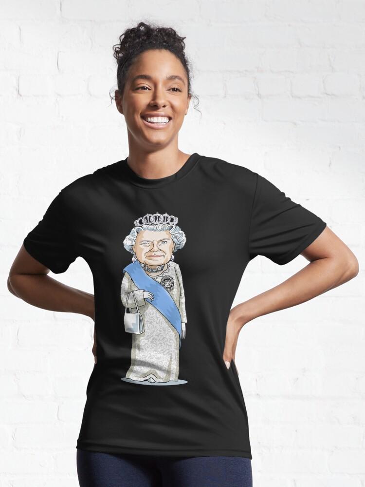 Alternate view of Queen Elizabeth II Active T-Shirt