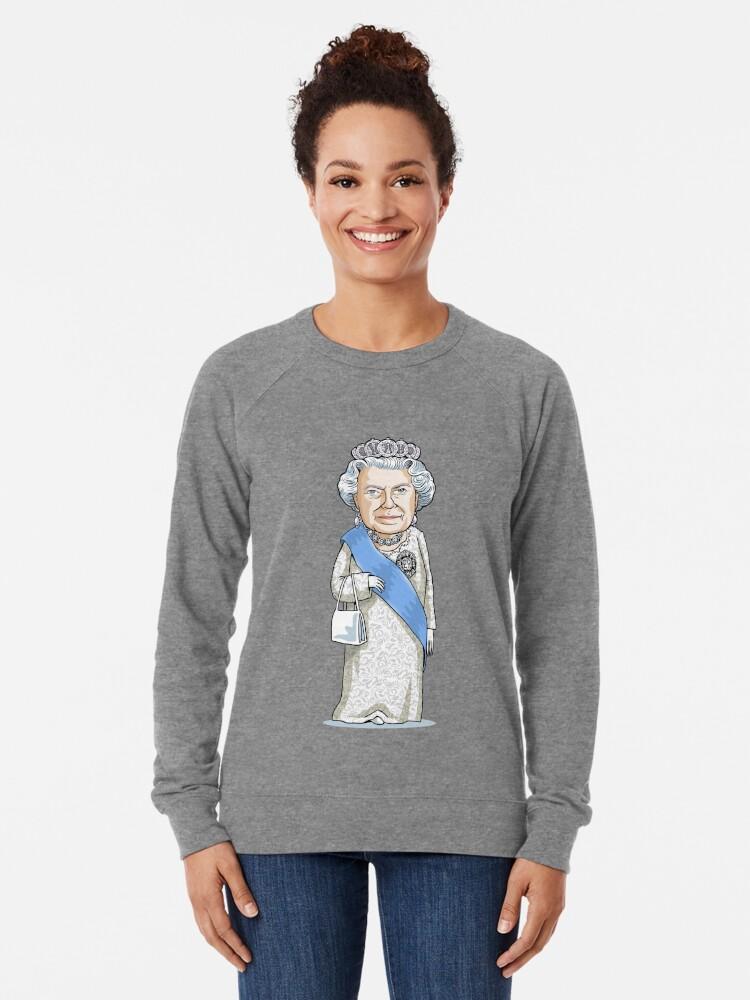 Alternate view of Queen Elizabeth II Lightweight Sweatshirt