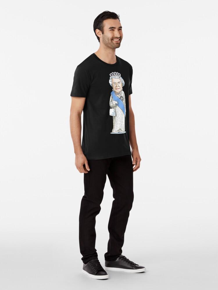 Alternate view of Queen Elizabeth II Premium T-Shirt