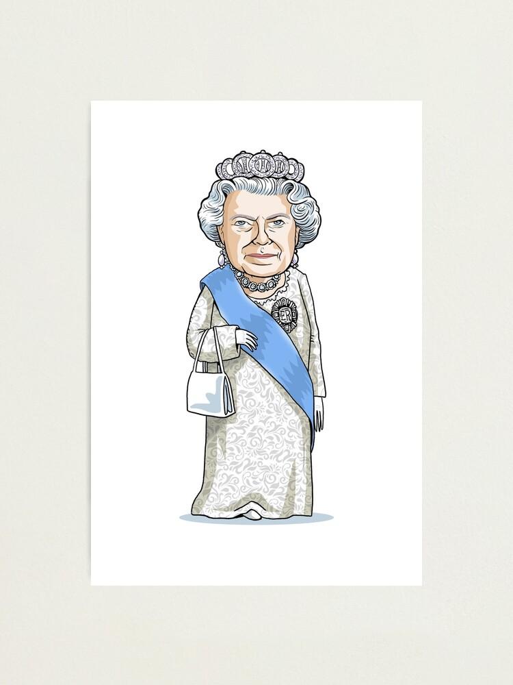 Alternate view of Queen Elizabeth II Photographic Print