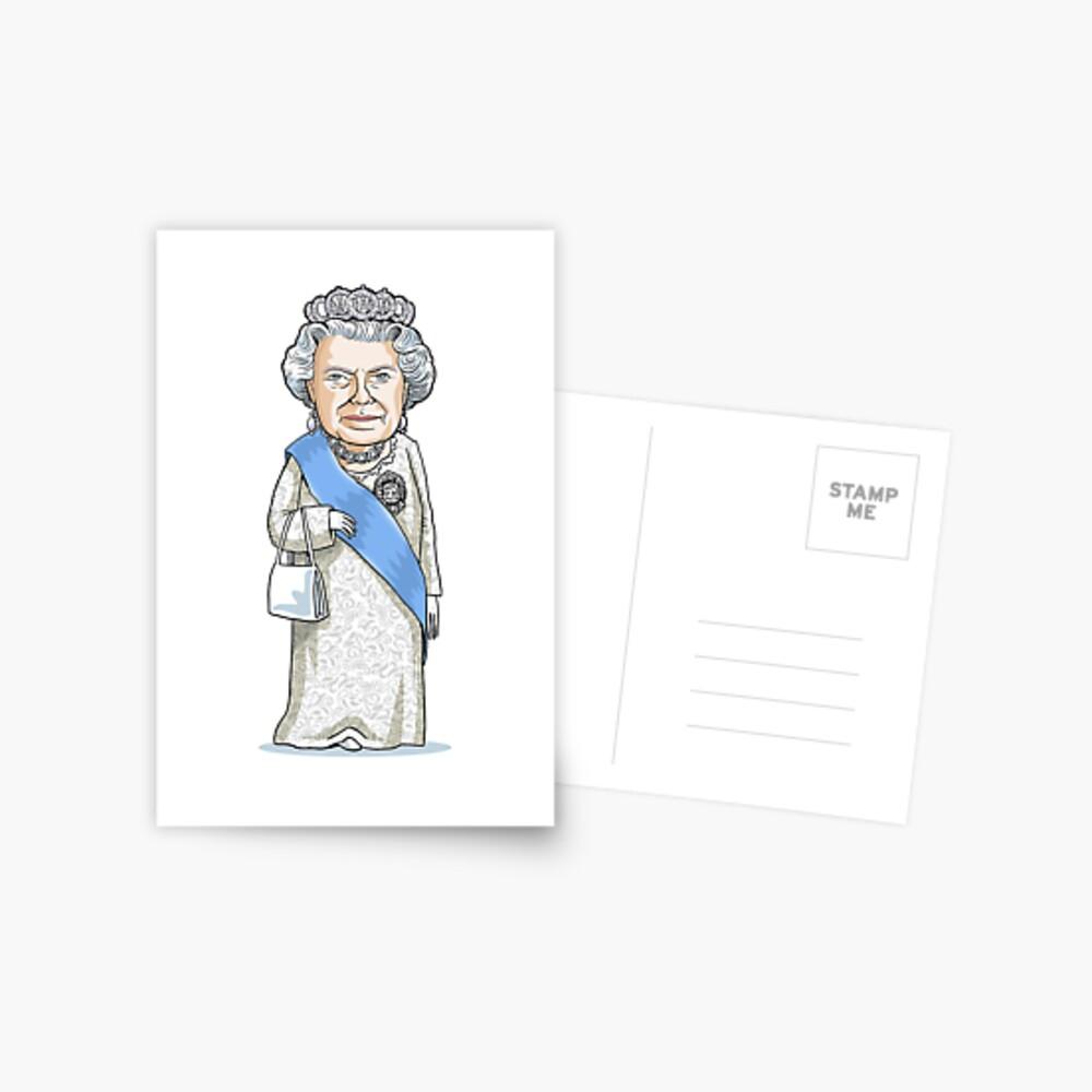 Queen Elizabeth II Postcard