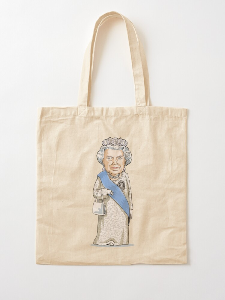Alternate view of Queen Elizabeth II Tote Bag