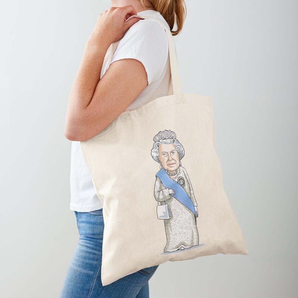 Queen Elizabeth II Tote Bag