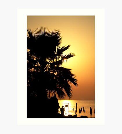 Sunrise photographer Art Print