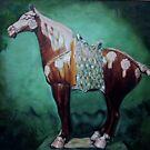 Chinese horse - Metropolitain Treasure by Helen Imogen Field