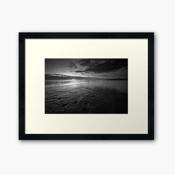 Foreshore Sunset - Lytham, Lancashire Framed Art Print