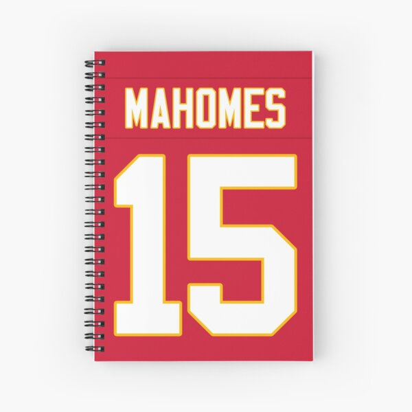 Patrick Mahomes Chiefs Spiral Notebook