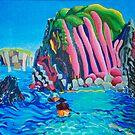 Canoe trip - GB south coast by Helen Imogen Field