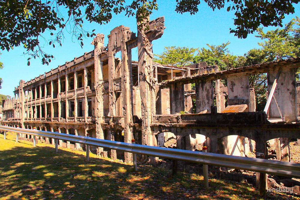 ruins of Corregidor by lensbaby