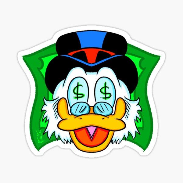 Scrooge McDuck - Rich Duck Sticker