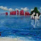 Krabi, Thailand - the most beautiful estuary by Helen Imogen Field