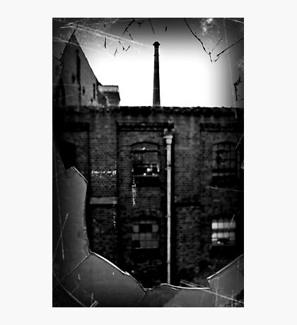 Break and Enter ~ Sleaford Bass Maltings Photographic Print