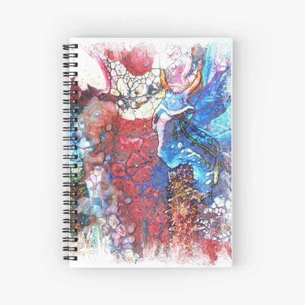 The Atlas Of Dreams - Color Plate 82 Spiral Notebook