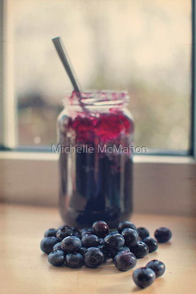 blueberry jam.. by Michelle McMahon