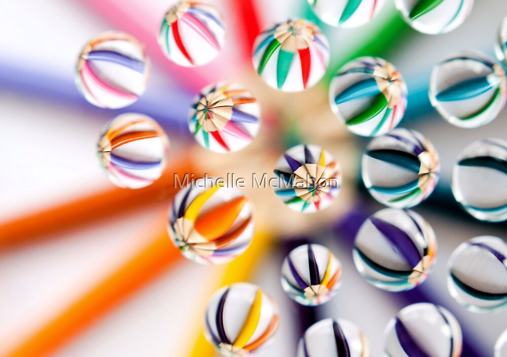 pencils.. by Michelle McMahon