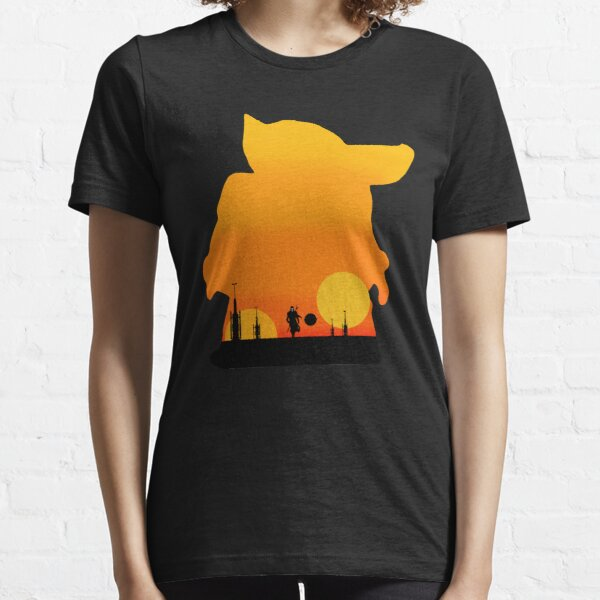 silhoute sunset Essential T-Shirt