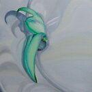 Jade vine flower by Helen Imogen Field