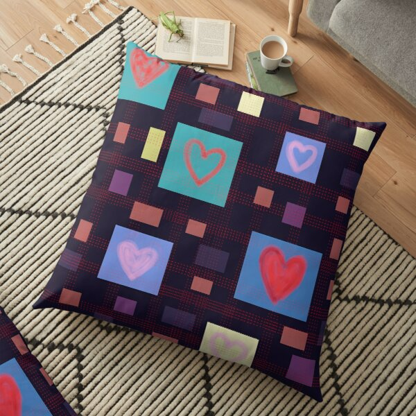 Heart Love Floor Pillow