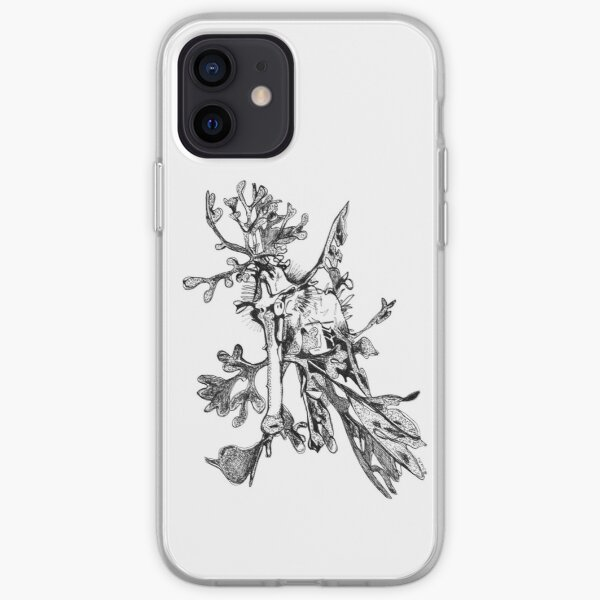 Carl the Leafy Sea Dragon iPhone Soft Case