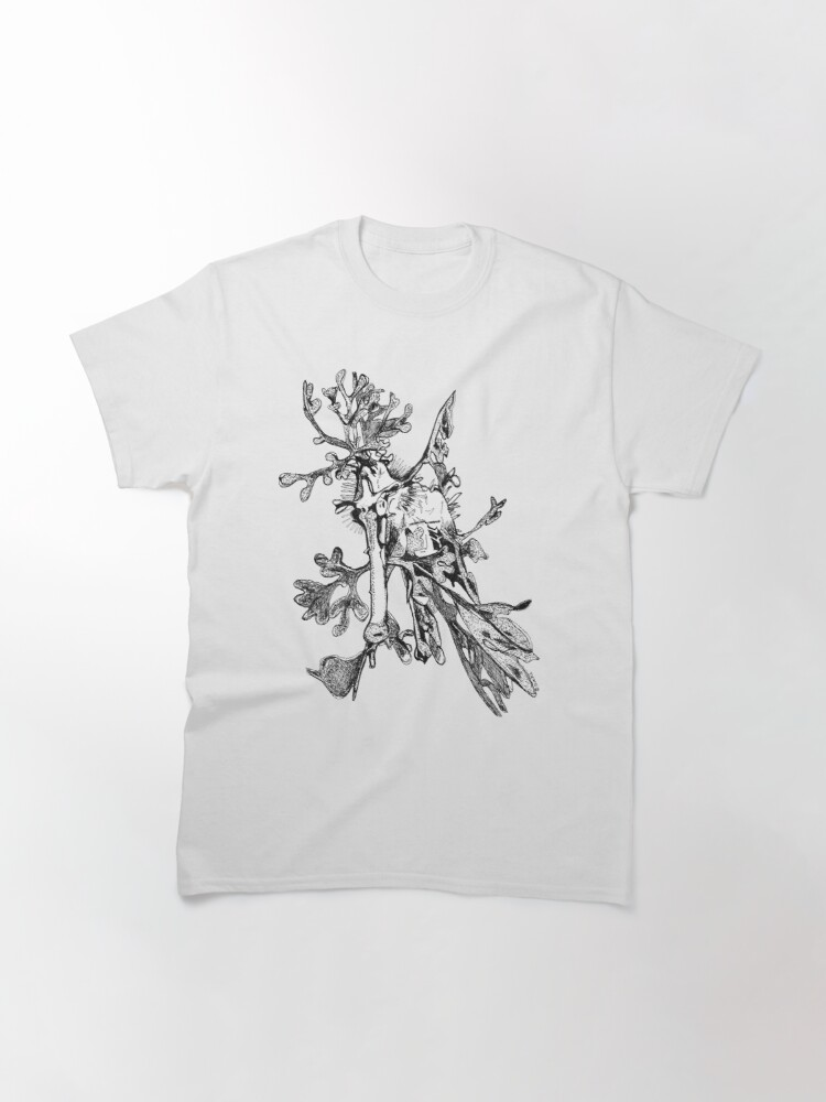 Alternate view of Carl the Leafy Sea Dragon Classic T-Shirt
