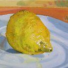 Lemon alone by Helen Imogen Field