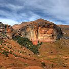 Sandstone cliffs by Rudi Venter
