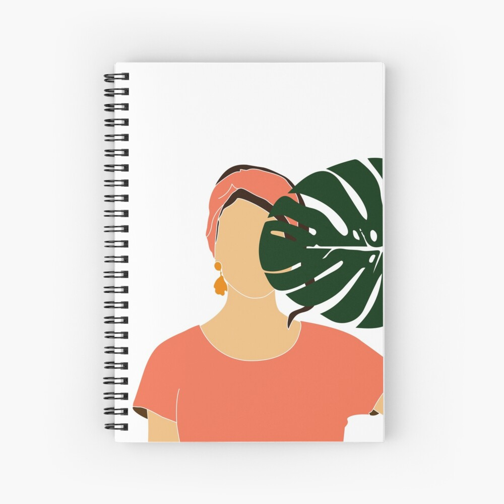 Tropical Reverie 19 Modern Minimal Illustration Girl And Palm Leaves Aesthetic Tropical Vibes Art Print By Shrijit Redbubble
