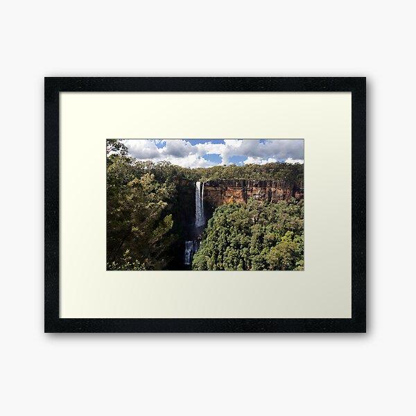 Spirits in the rock,Fitzroy Falls Framed Art Print