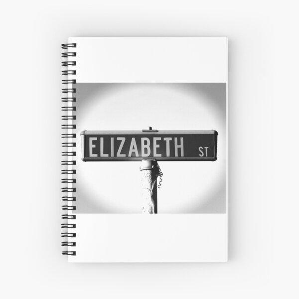A Street Sign Named Elizabeth Spiral Notebook