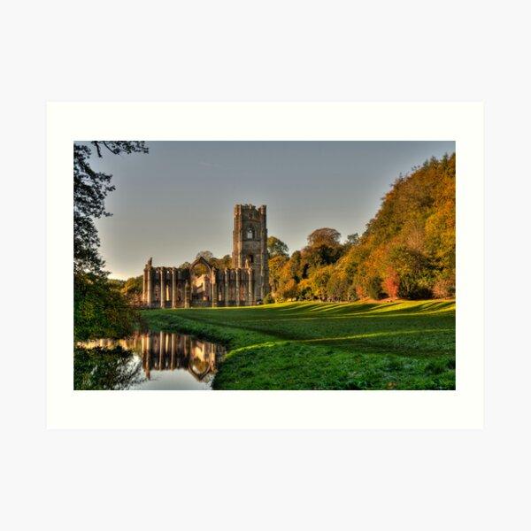 Fountains Abbey Art Print