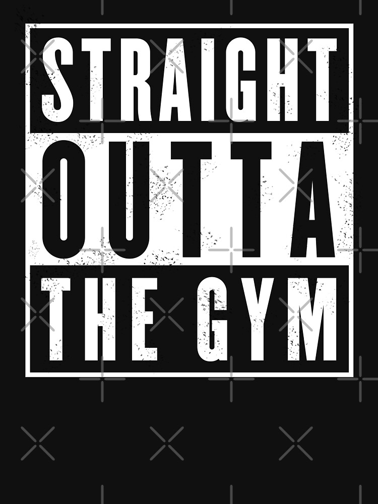 TShirtGifter presents: Straight outta thr Gym   Unisex T-Shirt