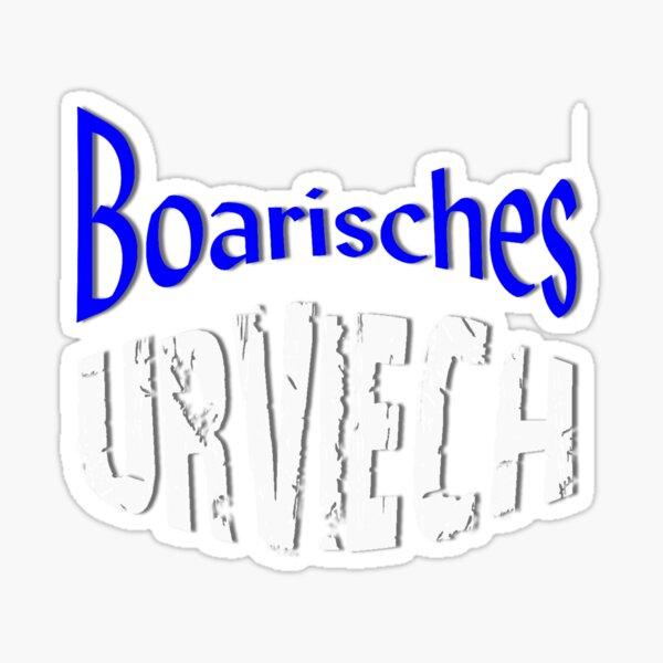 Boarisches Urviech Bayerisches Urviech Sticker