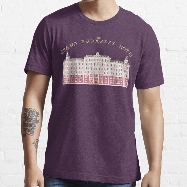 The grand Budapest Hotel Wes movie life acquatic Essential T-Shirt