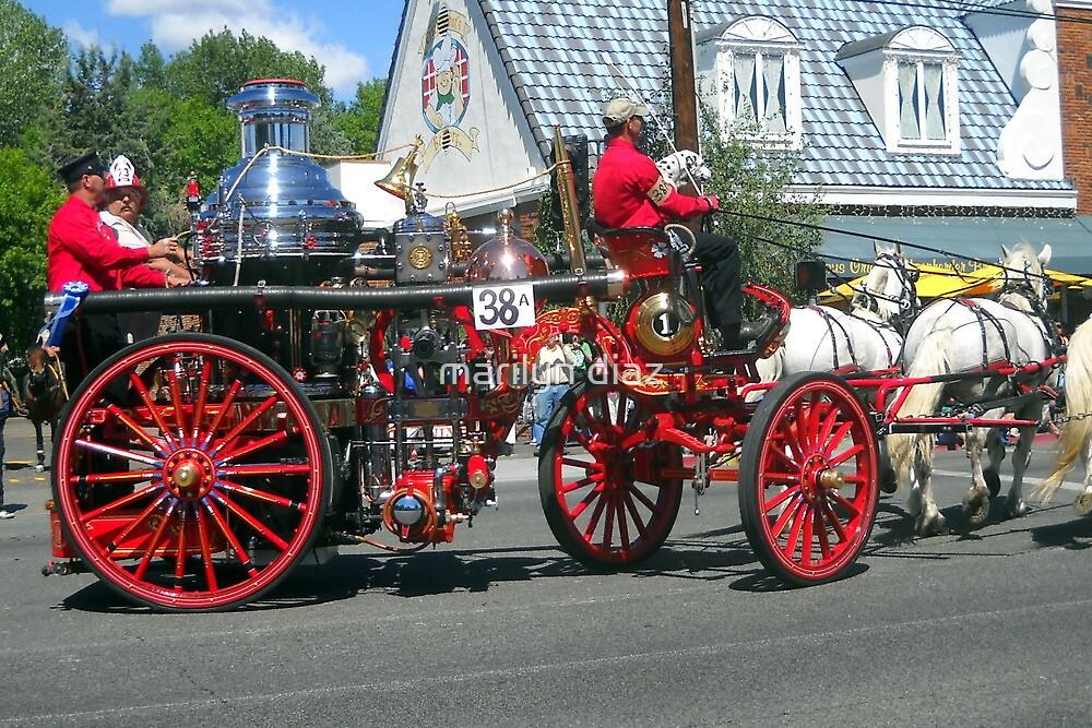 Fire Wagon by marilyn diaz