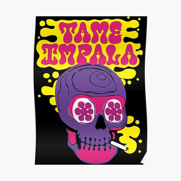 Psychedelic Skull Impala Poster