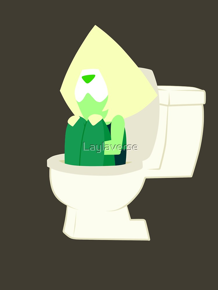 3d4e2d07b TShirtGifter presents: Peridot in the Toilet - Steven Universe ( Catch and  Release )