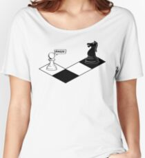 Knight Takes Pawn Women's Relaxed Fit T-Shirt