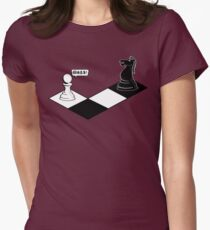 Knight Takes Pawn Women's Fitted T-Shirt