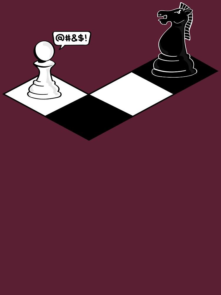 Knight Takes Pawn | Unisex T-Shirt
