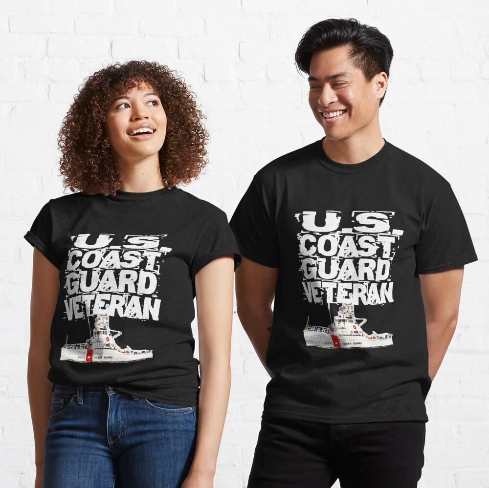 U.S. Coast Guard Veteran with 81' Classic T-Shirt