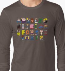 Gamer's Alphabet Long Sleeve T-Shirt